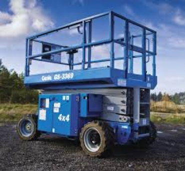Genie GS 2669 RT Rough Terrain Scissor Lift