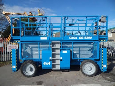 Genie GS 4390 RT Rough Terrain Scissor Lift