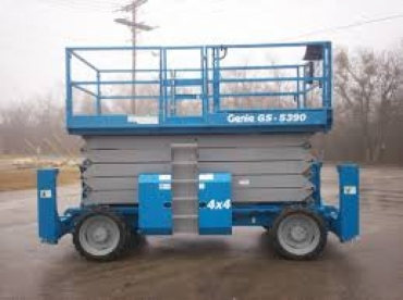 Genie GS 5390 RT Rough Terrain Scissor Lift