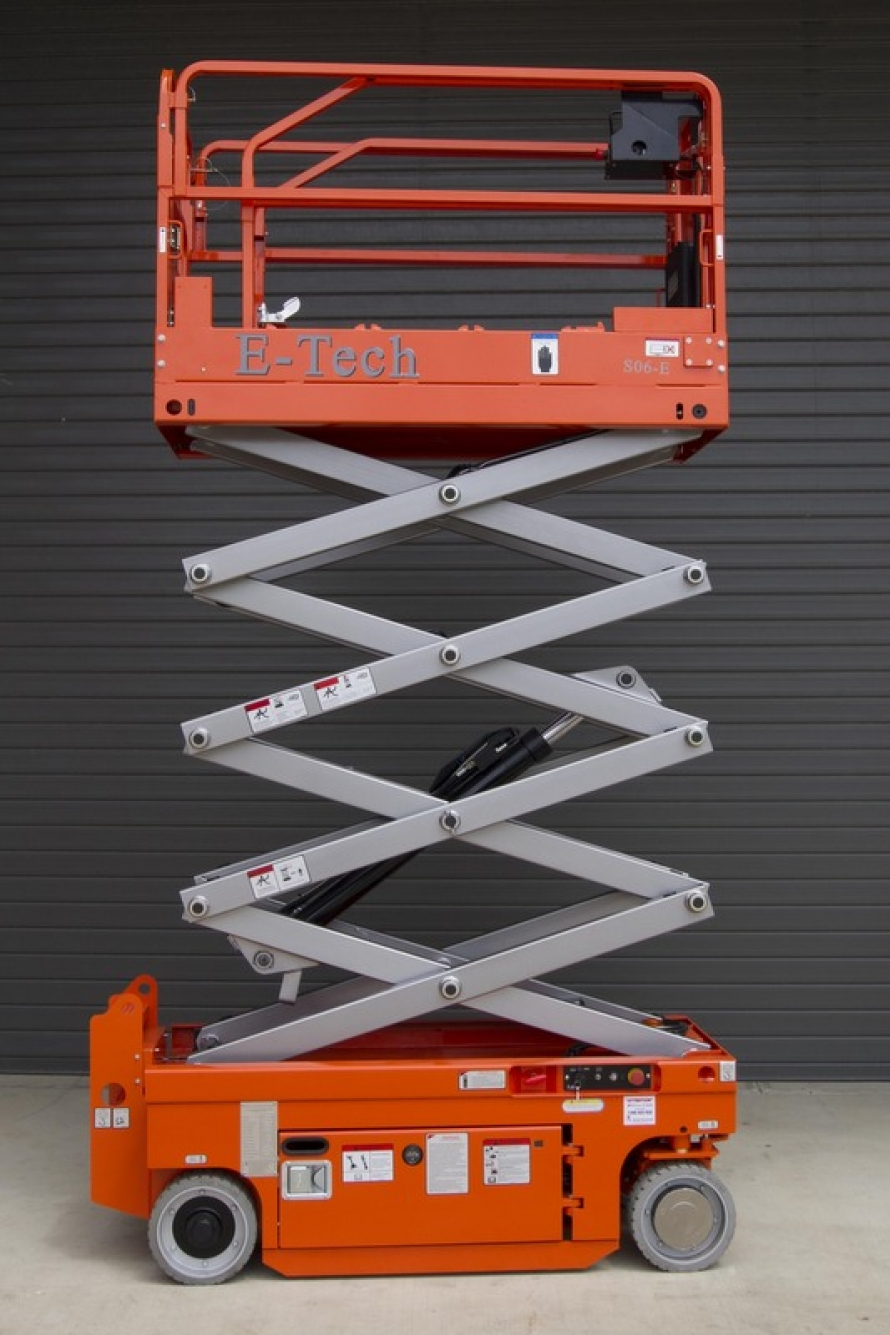 DINGLI E-TECH S06-E SCISSOR LIFT