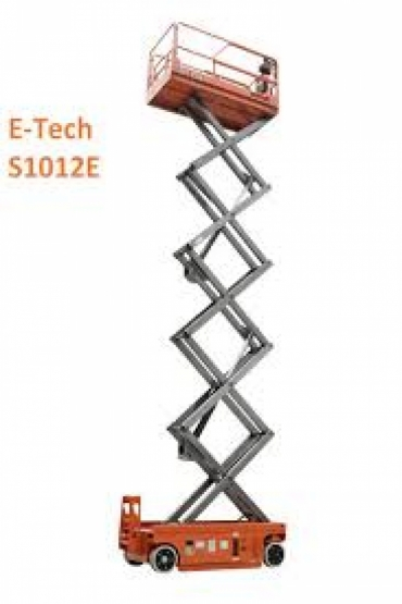 DINGLI E-TECH S1012-E SCISSOR LIFT
