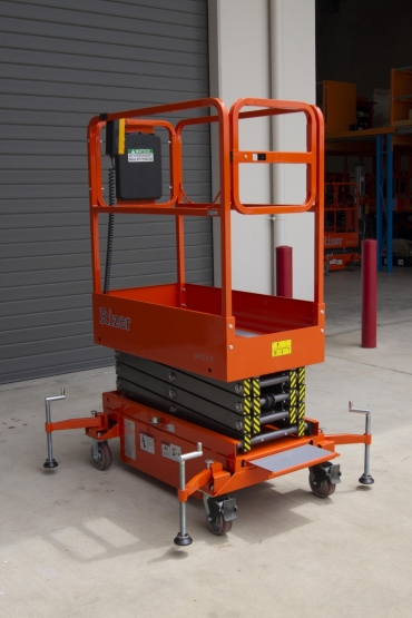 Dingli Rizer SP039-E Push Around Scissor Lift