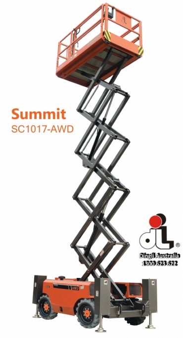 Dingli Summit SC1017-AWD Scissor Lift