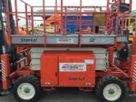 Snorkel S2770 Rough Terrain 4x4 Scissor Lift